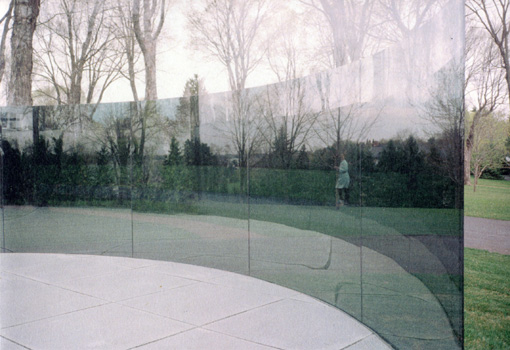 Dan Graham, Two-way Mirror/ Hedge Projects, 2004